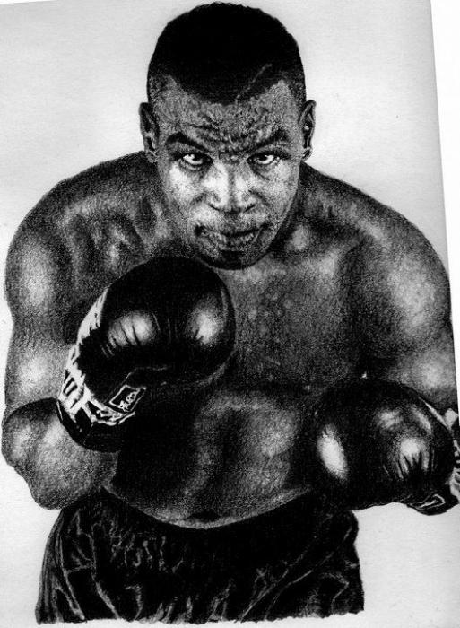 Mike Tyson par SeanLeonardArt